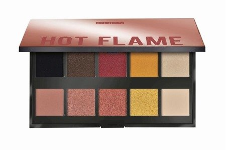 Paleta cieni do powiek 002 Hot Flame
